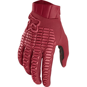 Fox Defend Gloves Herre cardinal